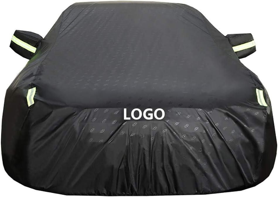 soleil Housses pour auto Couverture de voiture fonctionne avec Porsche Cayman Couverture de voiture |Imperm/éable tout temps protection contre la pluie vent UV |Int/érieur ext/érieur poussi/ère