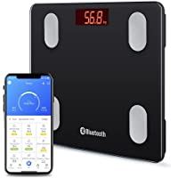 Smart Body Fat Scales Digital Bathroom Weight Scales Bluetooth Weighing Scale for Body Composition Analyzer Body Weight…