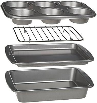Amazon.com: Ecolution Bakeins set de horno de 4 piezas ...