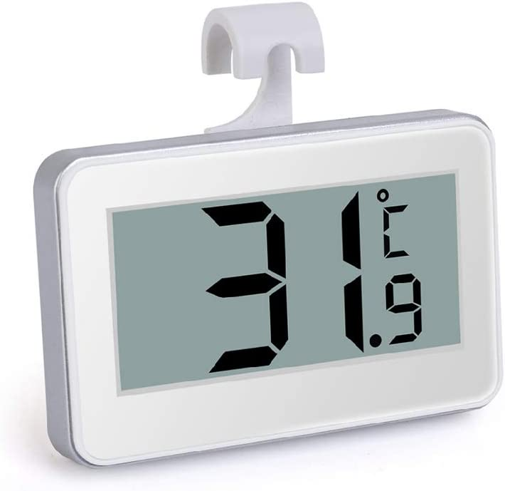 ANG-puneng Household High-Precision Waterproof Electronic Thermometer Refrigerator Temperature Frost Alarm
