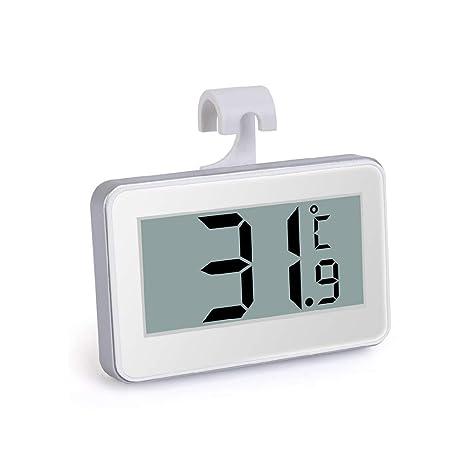 Meiqqm termómetros para nevera, termómetro electrónico de alta ...