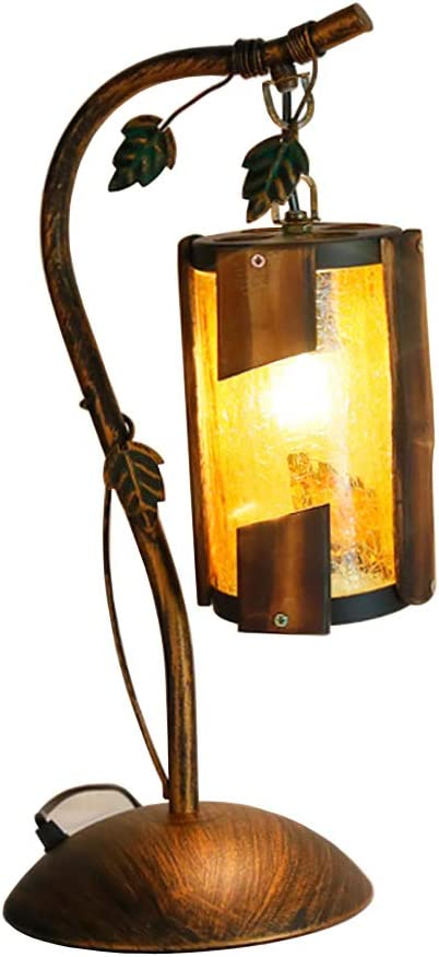 European Style Table Lamp Retro Lanterns Wrought Iron Theme Decorative Lights Lamps Lighting Amazon Co Uk Kitchen Home