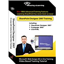 Microsoft Sharepoint Designer 2007 Self-Study Video Training (3 CD value Pack) by Amazing eLearning