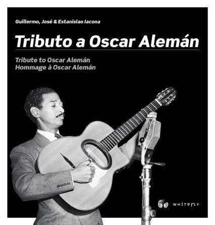 Oscar Aleman Book Swing Jazz Guitar (Eng, French, Spanish) Django Reinhardt (Tribute to Oscar Alemán - Hommage a Oscar Aleman - Tributo a Oscar Alemán)