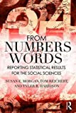 From Numbers to Words 1st Edition