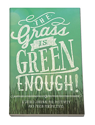 Studio Oh! Guided Journal, The Grass is Green Enough Journal from STUDIO OH!
