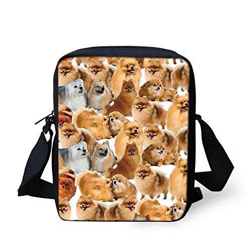 HUGS bandoulière IDEA petit femme Cat3 CC3484E Y Sac Pomeranian Noir pour HPUInwHAq