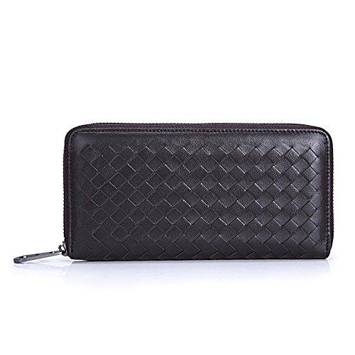 Kaxima Kopf zu beschichten die Lady Reißverschluss Tasche Geldbörse Leder Dame Geldbörse Reißverschluss Tasche A 8kMpgg1kg