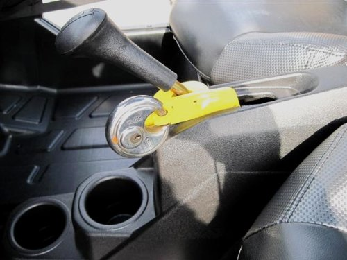 Extreme Metal Products EMP-10680 Anti-Theft Shift Lock For 2008-11 Polaris RZR (Gear Lock For Cars compare prices)