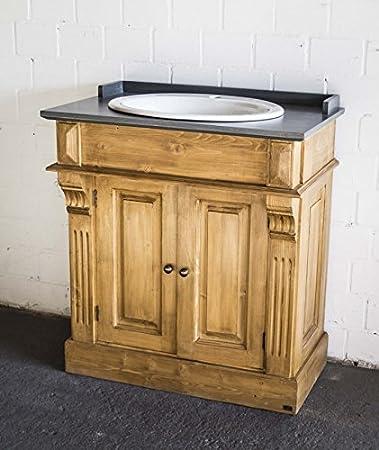 Waschtisch antik küche  Waschtisch antik braun im Landhausstil, Bad - Einzelwaschtisch ...