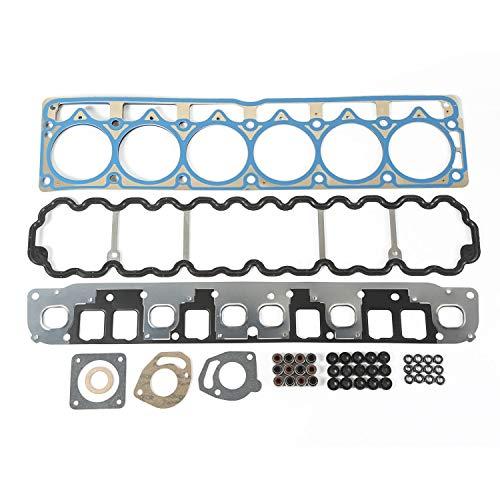 (Omix-ADA 17441.14 Upper Engine Gasket Set for Jeep (4.0L))