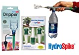 Hydrospike Combo Value Kit- Including Hydrospike 3-pack, Dripper 3-pack & Super Sprayer