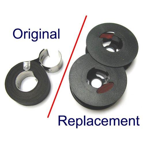 Remington Typewriter Ribbon - Black Red Twin Spool - Old Remington Typewriter Supplies Compatible product image