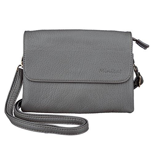 MINICAT Roomy Pockets Crossbody Wallet