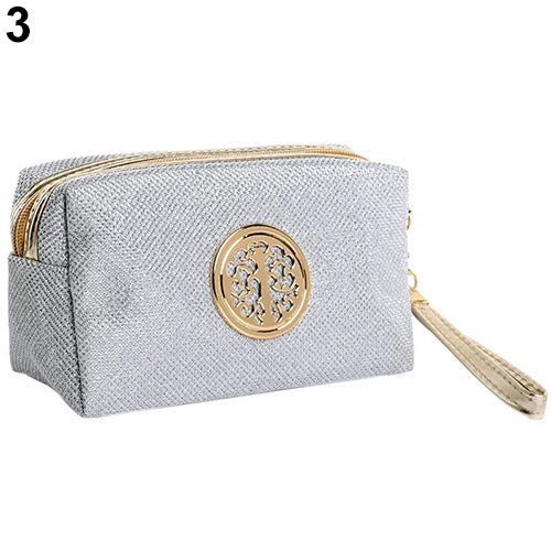 8d80a8af76a6 Amazon.com : gainvictorlf Makeup Bag Travel Cosmetic Toiletry Case ...