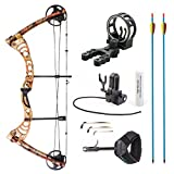 Best Compound Bows - Leader Accessories Compound Bow 30-55lbs Archery Hunting Equipment Review