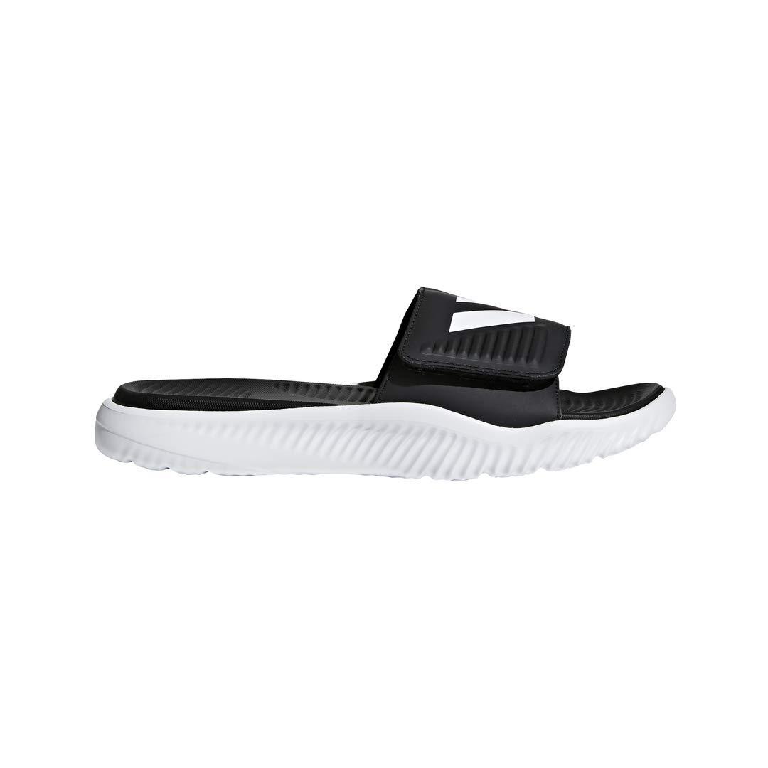 adidas Men's Alphabounce Slide Sandals, Core Black/White, ((10 M US) by adidas