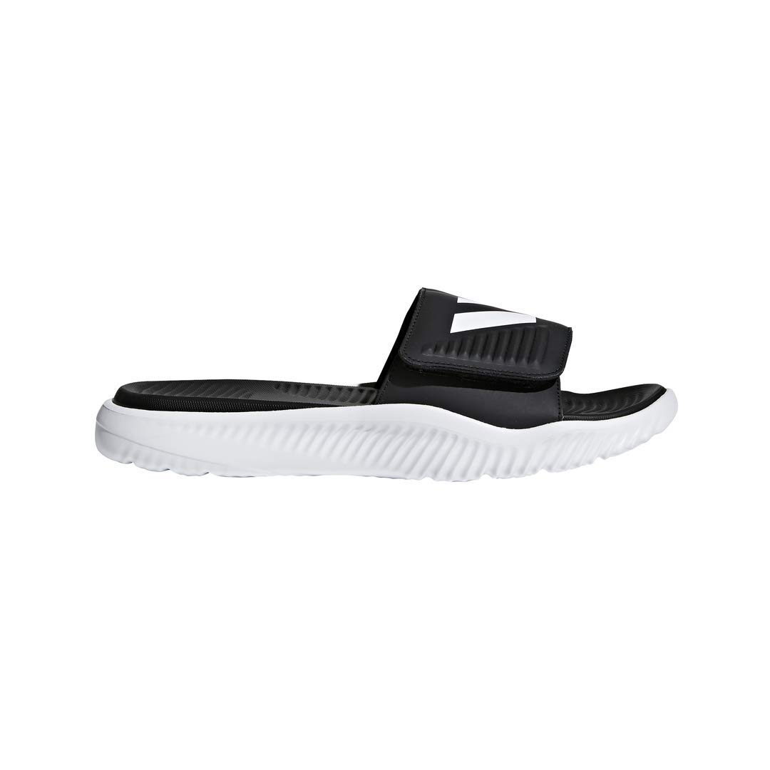 adidas Men's Alphabounce Slide Sandals, Core Black/White, ((11 M US)