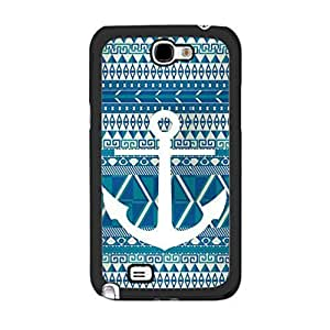 Hu Xiao Cool Anchor Print Hybrid Geometric Aztec Pattern Design case cover for IftzKtwJ7Zs Iphone 5C protective cell phone case cover Skin