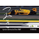 Ayrton Senna Classic Collection (アイルトンセナ クラシックコレクション) 2017年 アイルトン・セナ カレンダー「つみ...