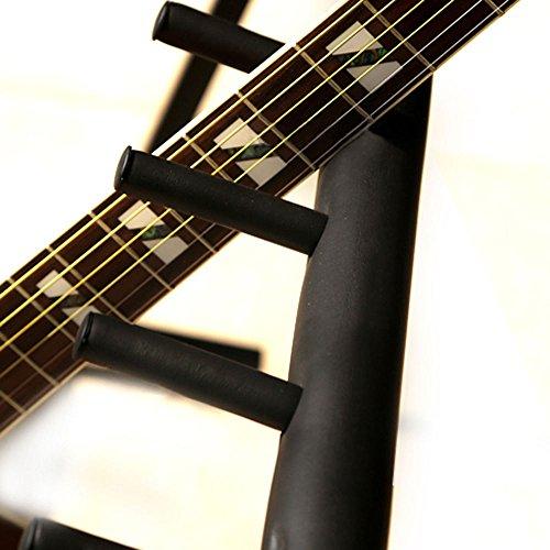 unho guitar stand 7 holder multi guitar folding stand rack band stage bass acoustic guitar buy. Black Bedroom Furniture Sets. Home Design Ideas