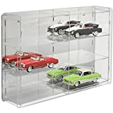 SORA 1/18 Model Car Display Case with mirrored back-panel