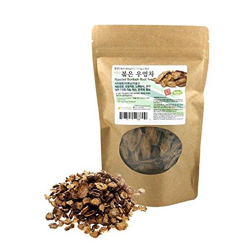 [Medicinal Korean Herb] Roasted Burdock Root Tea ( Niubangcha / 우엉 차 ) Dried Bulk Herbs 4oz ( 113g ()
