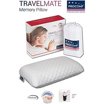 0c18dad92c86 VISCO LOVE ProComf Travel and Camping Mate Baby Kid s Teen s Adult s Memory  Foam Pillow
