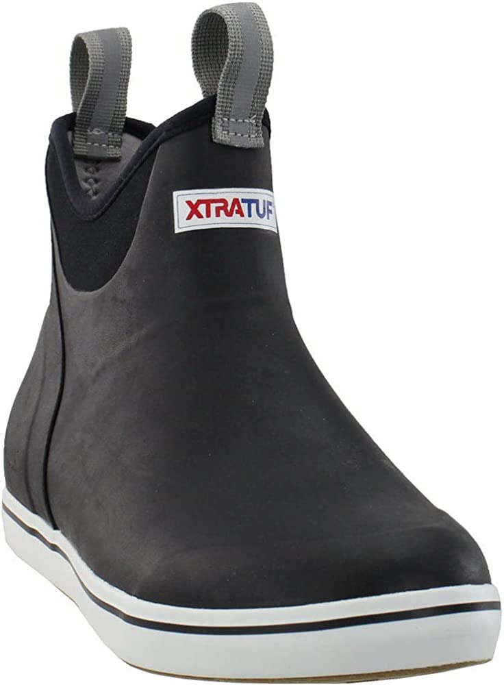 Full Rubber Ankle Deck Boots