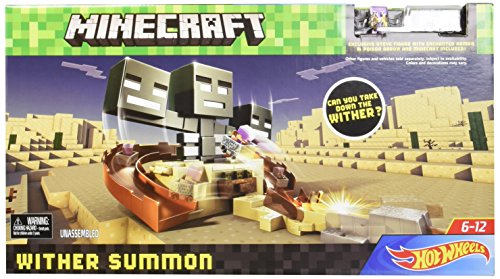 Minecraft Hot Wheels Wither Summon Playset