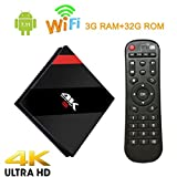 [3GB+32GB]Coolifer H96 Pro Android TV BOX Amlogic S912 Octa Core Android 6.0 Marshmallow 4K H.265 2.4G/5G Dual WiFi Bluetooth4.0 1000M LAN