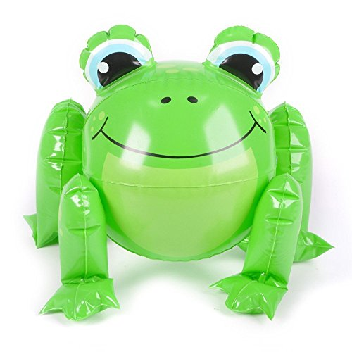 1 ~ Frog Beach Ball Inflate ~ Approx. 12