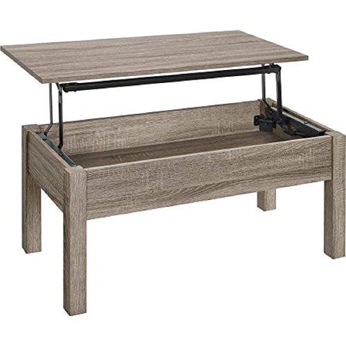 (Mainstays Unique Innovative Lift-Top Coffee Table (Sonoma Oak))