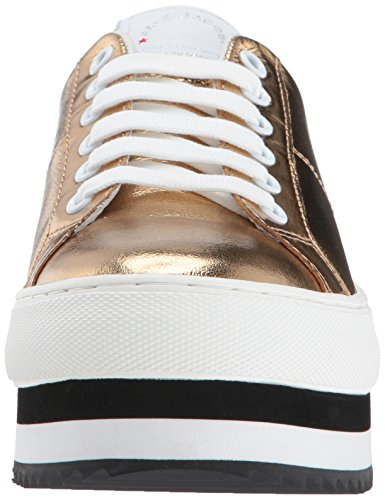 Marc Jacobs Womens Grand Platform Allacciatura Sneaker Oro