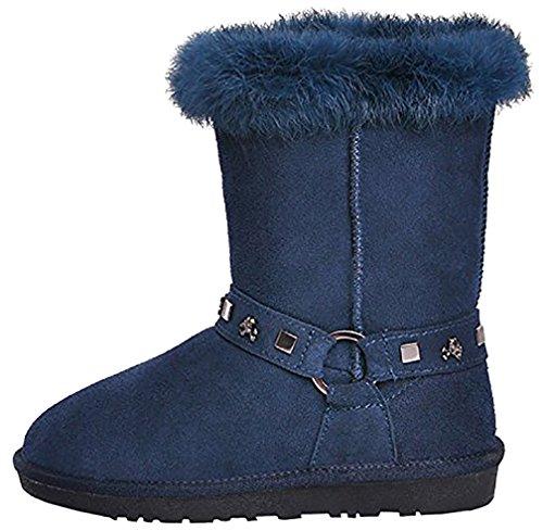 Blue Carobot Boots Women's Calaier Women's Boots Calaier Carobot HwT0CZxq0