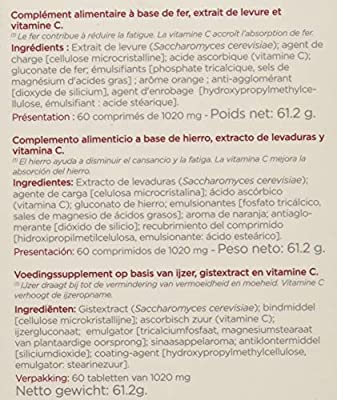 Inovance Hierro - 60 Comprimidos: Amazon.es: Salud y cuidado ...