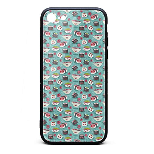 iPhone 6 case Sushi Love Sushi Rice Fish Japanese Food Shockproof Anti-Scratch Protective case Durable Waterproof for iPhone 6s case (Best Japanese Food Las Vegas)