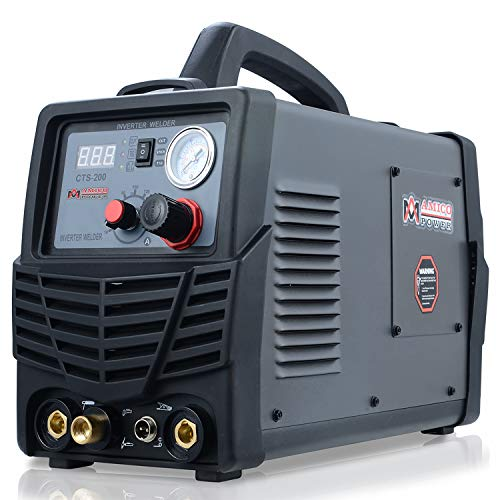 CTS-200, 50A Plasma Cutter, 200A TIG-Torch & Stick Arc Welder, 3-in-1 Combo Cutting & Welding Machine