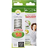 OttLite  15ED420  15W Swirl Screw in Light Bulb, Natural Light