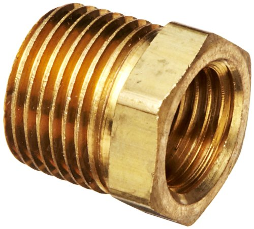 Npt Male Stem (Robert Manufacturing R209 Series Bob Brass Adapter, 3/8