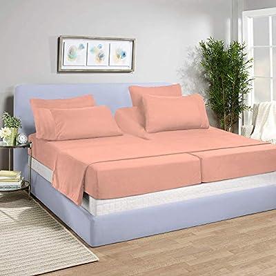 Inspired Ivory Impresionante decoración, sábanas Ajustables para ...