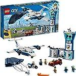 LEGO City Sky Police Air Base 60210 Bauset, Neu 2019 (529 Teile) LEGO
