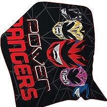 Power Rangers Childrens/Kids Official Geo Shard Fleece Blanket (One Size) (Multicolored)