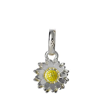 New LINKS OF LONDON Sterling Silver & Enamel Daisy Flower Sweetie Charm 5030.1669 8frQs8WJ