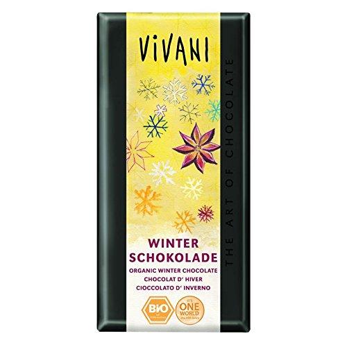 Vivani Organic x Chocolate  Invierno Chocolate  2 x Organic 100g 10f258