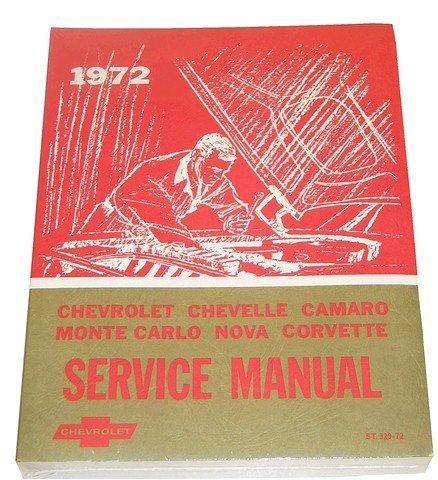 amazon com 1972 corvette gm shop and service manual automotive rh amazon com 75 Corvette 78 Corvette