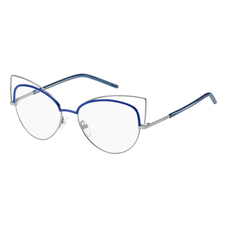 107bc149b830 New Marc Jacobs MJ Marc 12 TZJ Ruthenium Blue Frame Round Eyeglasses 53:  Amazon.ca: Clothing & Accessories