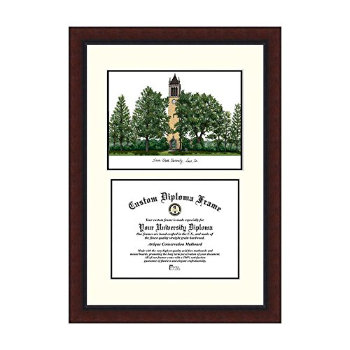 Campus Images NCAA Iowa State University Legacy Scholar Frame by Campus Images