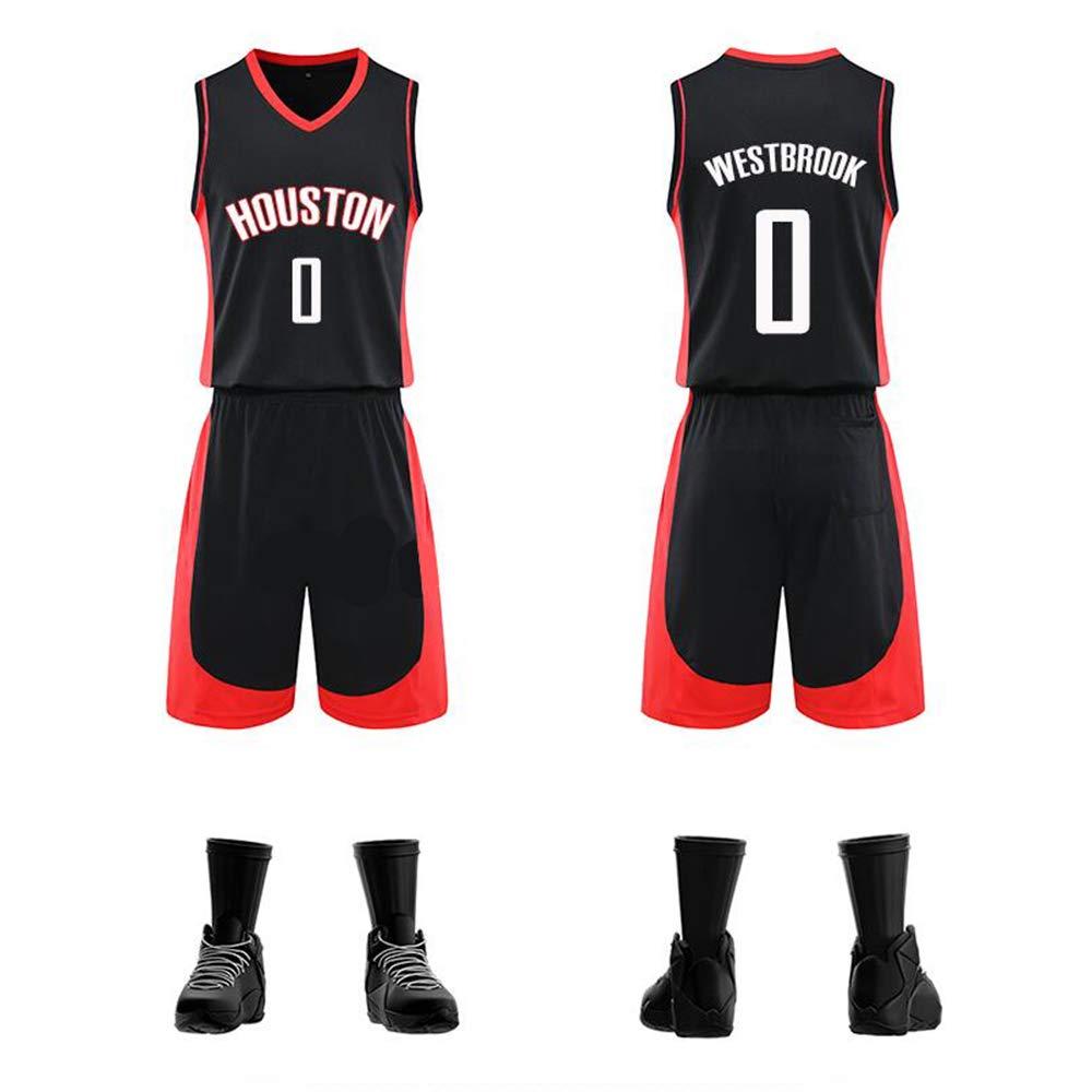 WSAYY Houston Rockets 0. Camisetas De Baloncesto,Westbrook ...
