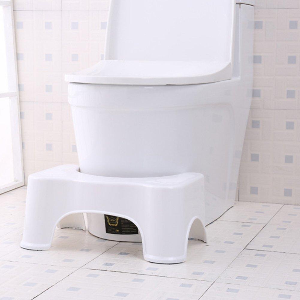 Somedays WC vasino Sgabello poggiapiedi Anti Costipazione Heal Squat emorroidi Costipazione prevenzione WC Sgabello per Bambini Adulti
